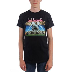 Led Zeppelin - Mens Blimp With Searchlights T-shirt