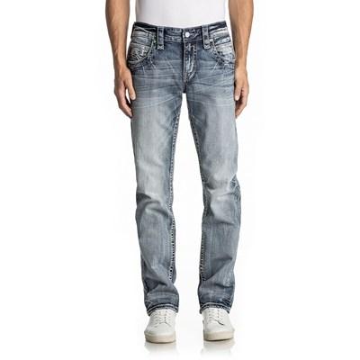 Rock Revival - Mens Ruskin J205 Straight Jeans