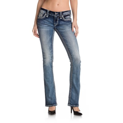 Rock Revival - Womens Claire B200 Bootcut Jeans With Flap