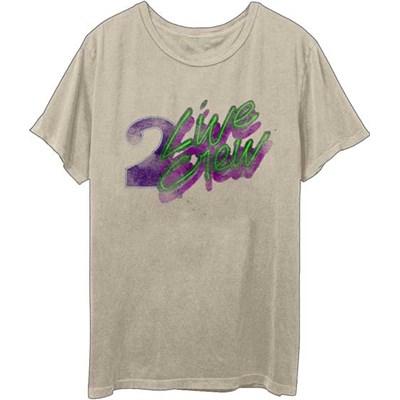 2 Live Crew - Mens Vintage Logo Sand T-Shirt