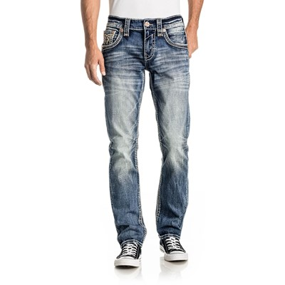 Rock Revival - Mens Baltic A201 Straight Jeans