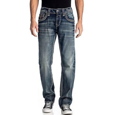 Rock Revival - Mens Elmwood J203 Staight Jeans