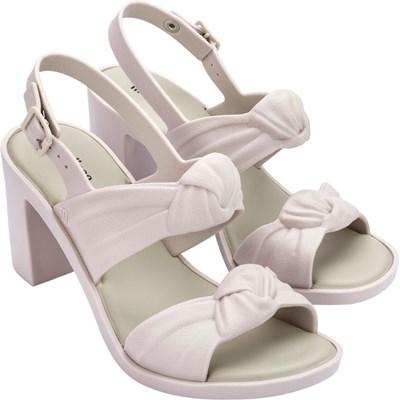 Melissa - Womens Velvet Heel Sandals