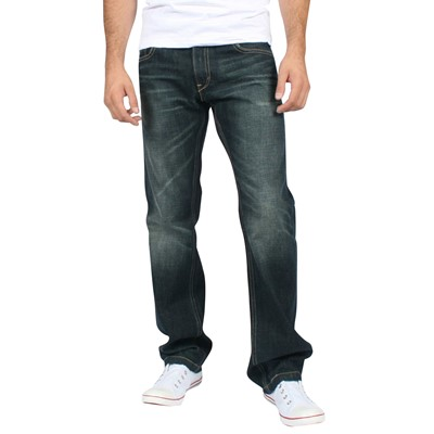Levis - Mens 514 Style Good - Utility - Green Ice Denim Jeans
