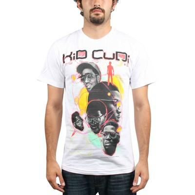 Kid Cudi - Sketch Mens T-Shirt In White