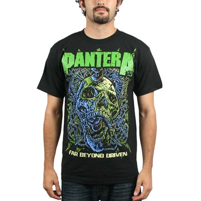 Pantera - Far Beyond Mens S/S T-Shirt In Black