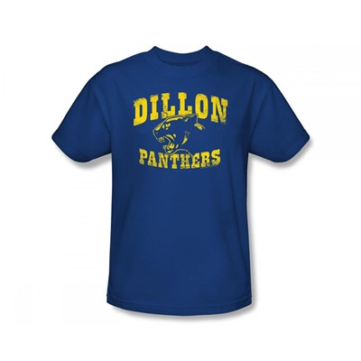 Friday Night Lights - Dillon Panthers Slim Fit Adult T-Shirt In Royal