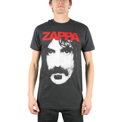 Frank Zappa - Zappa Mens T-Shirt In Coal
