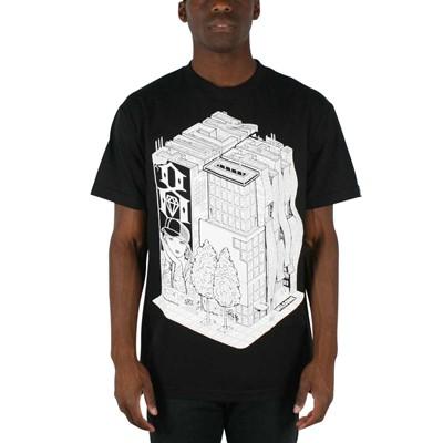 Rebel8 - Fuck Off Mens T-shirt in Black