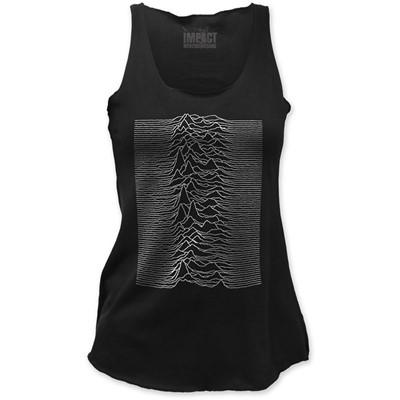 Joy Division - Womens Unknown Pleasures Tank Top in Black