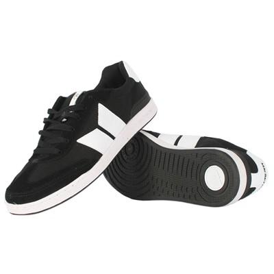 Macbeth Madrid Shoes Black White