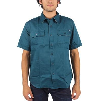 HUF - Mens Potrero Work Shirt in Jade