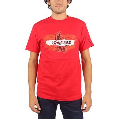 BodyPUNKS! - Mens Radiowave T-shirt In Red