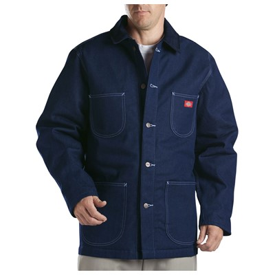 Dickies - 3494 Denim Blanket Lined Chore Coat