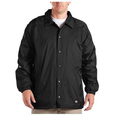 Dickies - Mens Snap Front Nylon Jacket
