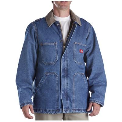Dickies - 77-293 Denim Zip Front Chore Coat