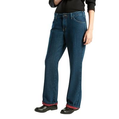 Dickies - FD117 Women's Flannel Lined Jean