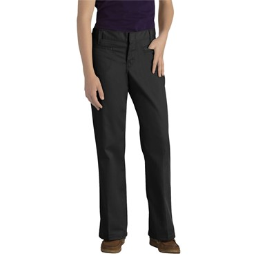 Dickies - KP711 Girl's Welt Pocket Flare Bottom Pant (Jr Sizes 3-21)