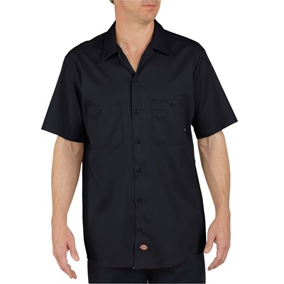 Dickies - LS307 - Industrial Short Sleeve Cotton Work Shirt