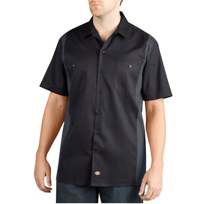 Dickies - Mens WS508 Short Sleeve Two-Tone Work Shirt