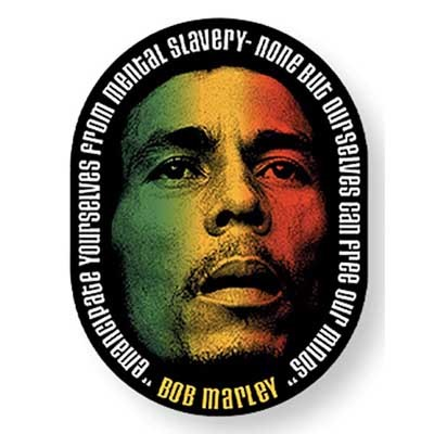 Bob Marley - Face unisex-adult Sticker in NA