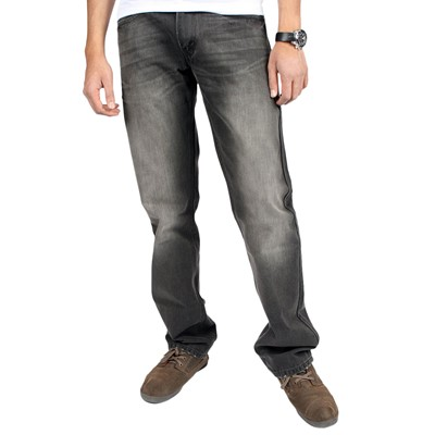 Levi's 514 Slim Straight Jeans in Gray Out