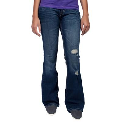 Levis Strauss 518 Superlow Bootcut Jeans in Iced Indigo