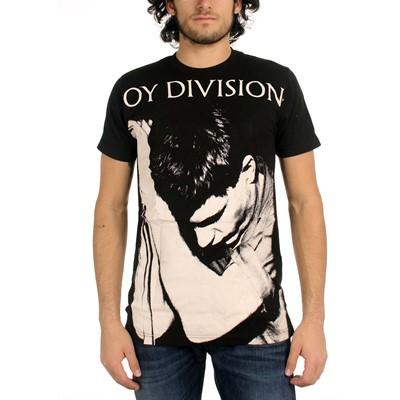 Joy Division Ian Curtis Big Print Subway T-Shirt