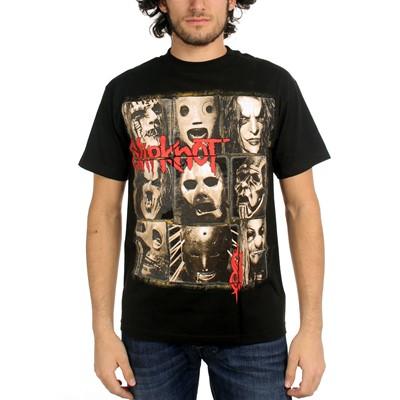 Slipknot - Mens Mezzotint T-Shirt In Black