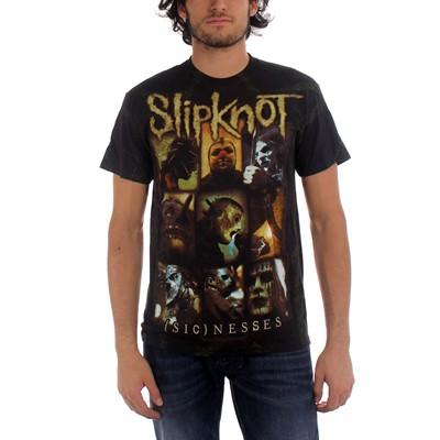 Slipknot - Mens Sickness T-Shirt In Black