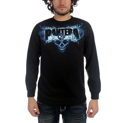 Pantera - Cowboy From Hell Mens Long Sleeve T-Shirt In Black