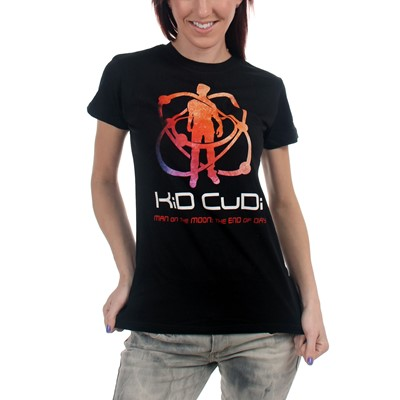 Kid Cudi - Atomic Cudi Girls S/S T-Shirt In Black