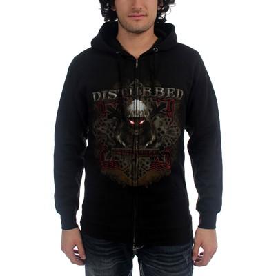Disturbed - Medieval Hoodie Mens Hoodie In Black