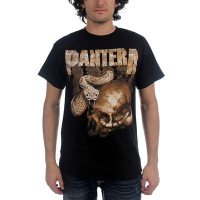 Pantera - Rattler Skull Mens S/S T-Shirt In Black