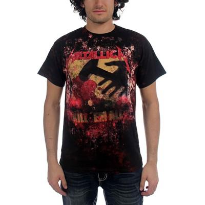 Metallica - Kill Em All Allover Mens T-Shirt In Black