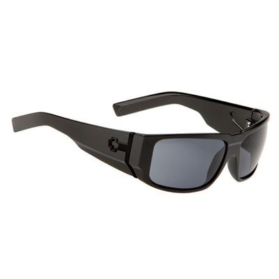 c1ed3f17d7f93 Spy - Bowery Matte Black and Tortoiseshell And Grey Green Sunglasses
