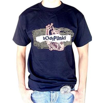 BodyPUNKS! Radiowave Black Tee
