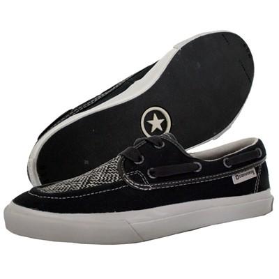 Converse Sea Star Low Top Shoes in Black / Grey (107256-064)