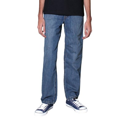 Levis 550 Relaxed Fit Boy's Jeans in Clean Crosshatch (Slim)