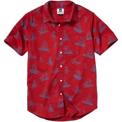Quiksilver - Mens Ocean Party Ss Woven Shirt