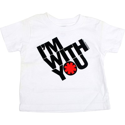 Red Hot Chili Peppers - Toddler Iwy Tilt T-Shirt In White