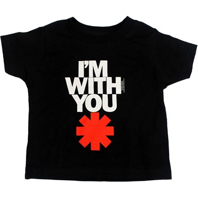 Red Hot Chili Peppers  - Toddler Iwy Asterisk T-Shirt In Black