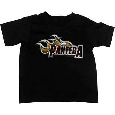 Pantera - Lil Dragster Toddler Tee Babywear In Black
