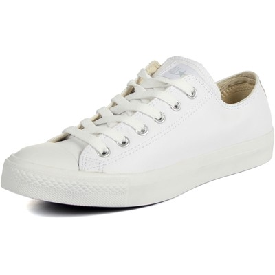 Converse Leather Chuck Taylor All Star Shoes Low Top in White