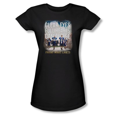 Friday Night Lights - Womens Motivated T-Shirt In Black