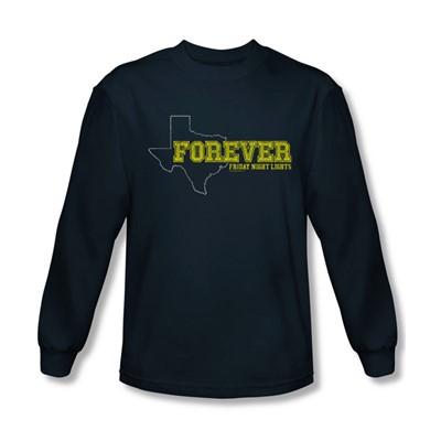 Friday Night Lights - Mens Texas Forever Long Sleeve Shirt In Navy