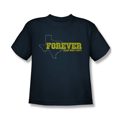 Friday Night Lights - Big Boys Texas Forever T-Shirt In Navy