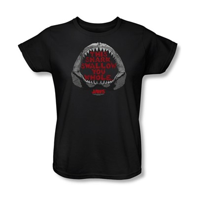 Jaws - Womens This Shark T-Shirt In Black