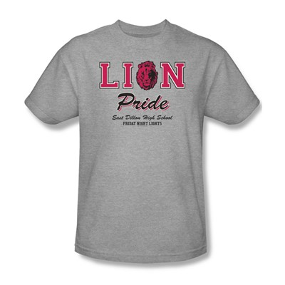 Friday Night Lights - Lions Pride Adult T-Shirt In Heather