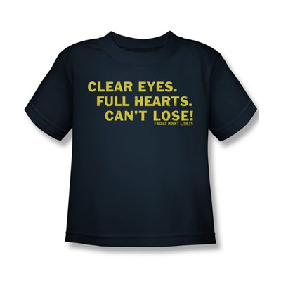 Friday Night Lights - Clear Eyes Juvee T-Shirt In Navy